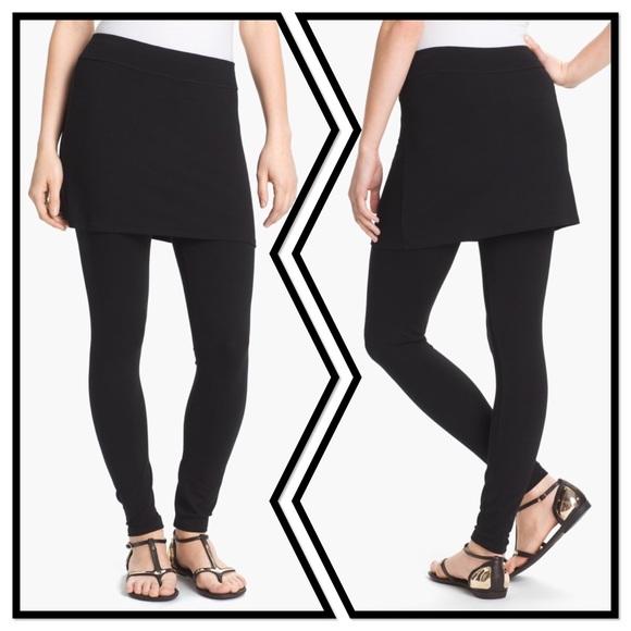 704b968f6ad5e Eileen Fisher Pants | Skirted Ankle Leggings | Poshmark